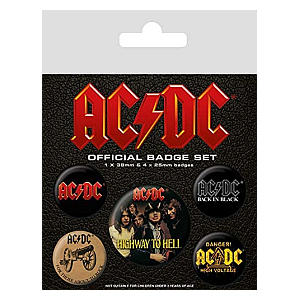 ACDC Badge Collection