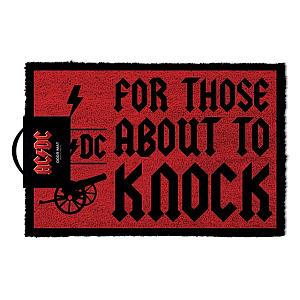 ACDC Door Mat