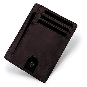 AKIELO RFID Blocking Credit Card Holder