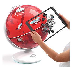 AR Interactive Mars Globe