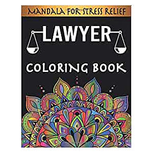 Adult Colouring Book for Lawyers