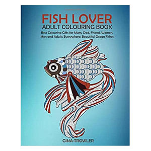 Adult Fish Colouring Book