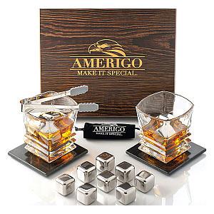 Amerigo Exclusive Whiskey Stones Set
