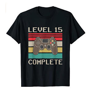 Anniverary Level 15 Gamer T-Shirt