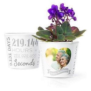 Anniversary Flower Pot
