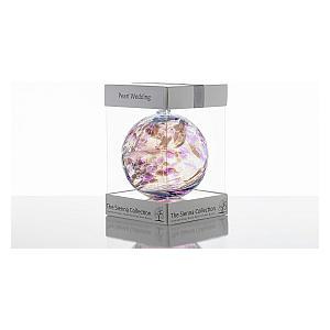 Anniversary Glass Globe