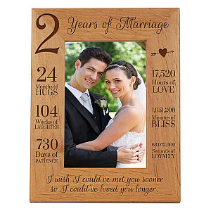 Anniversary Picture Frame