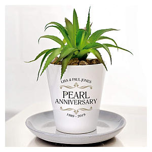 Anniversary Plant Pot