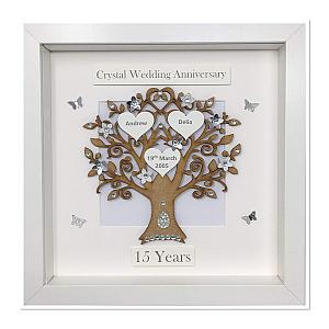 Anniversary Tree Framed Print