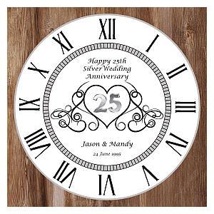 Anniversary Wall Clock
