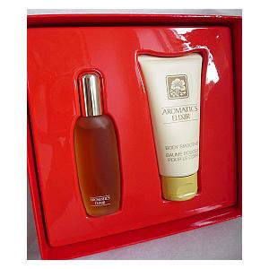 Aromatics Elixir Perfume and Lotion Set