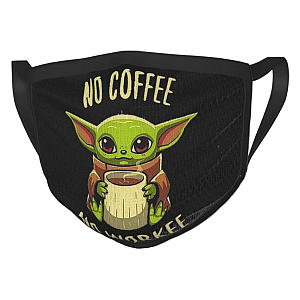 Baby Yoda Reusable Face Mask