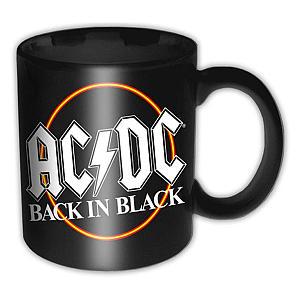 Back in Black Boxed Mug