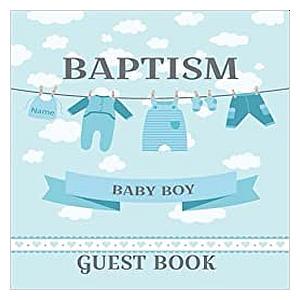 Baptism Guest Book