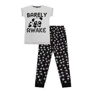 Barely Awake Panda Pyjamas