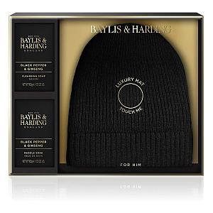 Baylis and Harding Luxury Beanie Hat Set