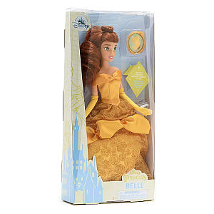 Belle Doll and Pendant Gift Box