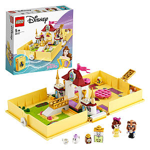 Belle's Storybook Adventures Castle Lego Travel Case Set