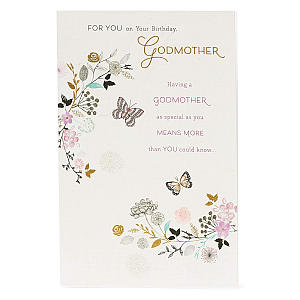 Birthday Card for Godmother