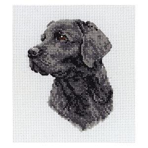 Black Labrador Embroidery Kit