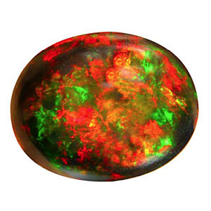 Black Opal Gemstone