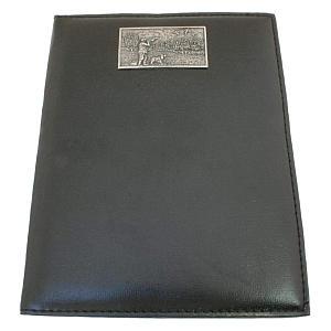 Black Shooting Scene A5 Address Book