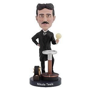 Bobble Head Nikola Tesla