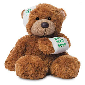 Bonnie Get Well Bear