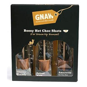 Boozy Hot Chocolate Shots