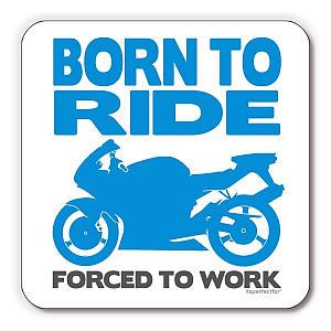 Born to Ride Drinks Coaster