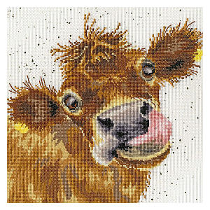 Bothy Threads Cow Image Kit