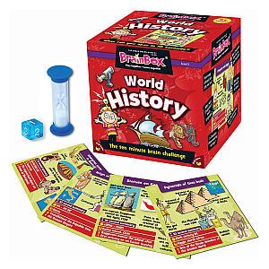 Brain Box - World History Board Game