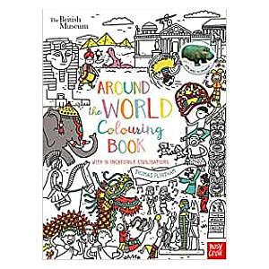 British Museum Colouring Book
