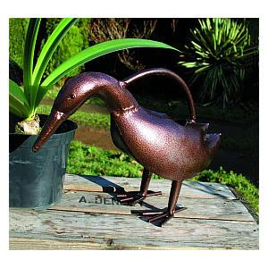 Bronze Duckling Ornamental Watering Can