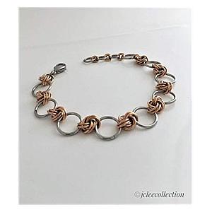 Bronze and Steel Bracelet