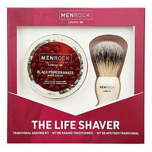 Brush and Shaving Cream Set
