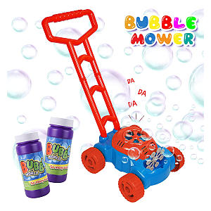 Bubble Machine Lawn Mower