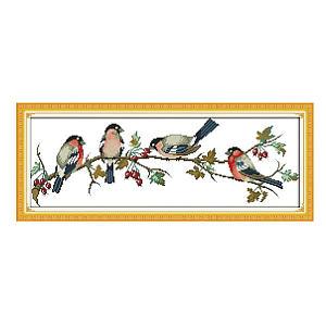 Bullfinch Cross Stitch Kit