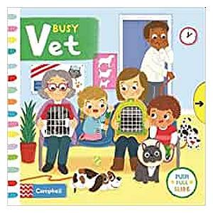 Busy Vet Kids Board Book