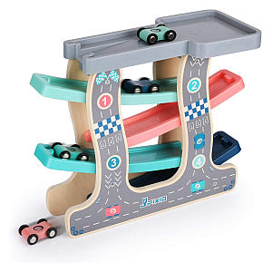 Car Race Track Ramp