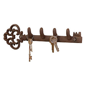 Cast Iron Wall Key Rack