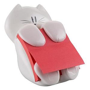 Cat Post It Note Dispenser