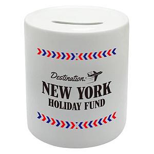 Ceramic Holiday Fund Money Box