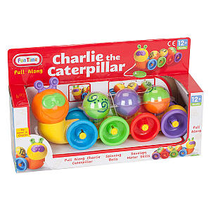 Charlie The Caterpillar Activity Toy