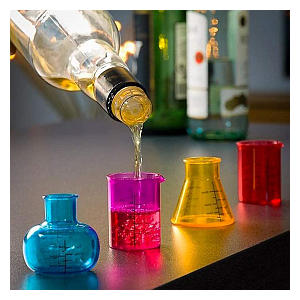 Chemistry Shot Glasses