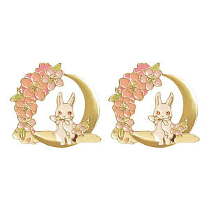 Chic Rabbit Easter Brooches