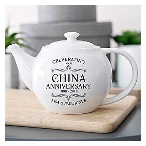 China Anniversary Tea Pot
