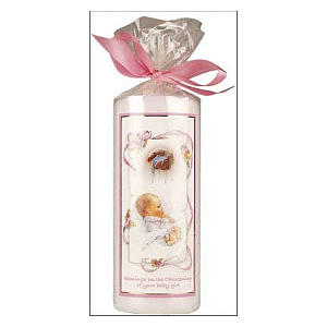 Christening Candle for Girls
