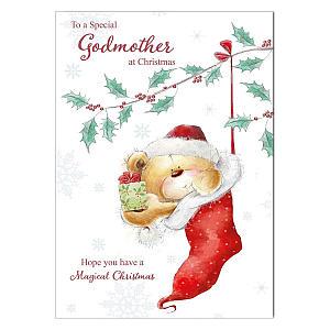 Christmas Card for Godmothers
