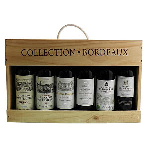 Collection Châteaux Bordeaux Red Wines Case